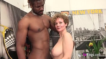 Young people mature Busty mercé starts new year by getting drilled by a bbc