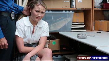 Teen Alyssa Cole is a little thief caught red handed and pay the price thumbnail