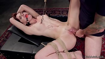 Bdsm holidays Redhead slave trainee anal fucked