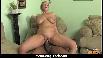 Mature Lady in Interracial Amateur Video 1