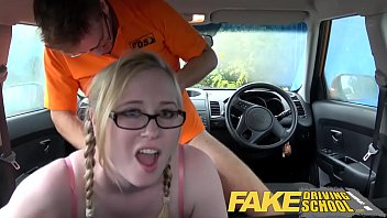 Wired pussy favourite videos top ten Fake driving school creampie for teen leaner with hairy pussy