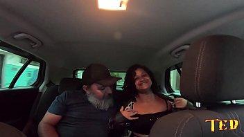 Carona do Ted # 14 o Tio pega a novinha - Aline Cassia - Sandro Lima