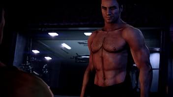 Shepard and Kaidan Sex Scene - ME 3 Remastered 5分钟