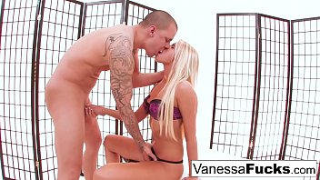 Vanessa Decides To Fuck Her Tight Little Pussy