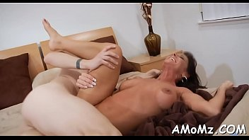Free mature with boy - Boy stuffs cock in older hole