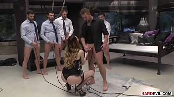 There are so many cocks to suck here, safe to say it's a gangbang - Misha Cross, Candee Licious