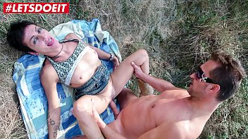 LETSDOEIT - Mature Lovers Get Kinky In The Forest With Anal Sex
