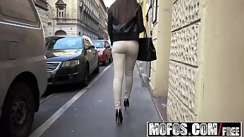 Mofos - Public Pick Ups - Euro Chick Sucks Dick in Elevator starring Carla Cross