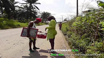 QUEENMARY9JA- sexy housewife fucked a jewelry hawker she met on her way.