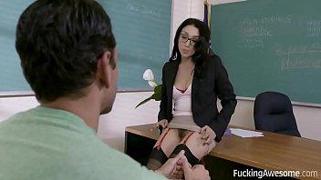 FuckingAwesome - Banging The Teacher - Vicki Chase Image