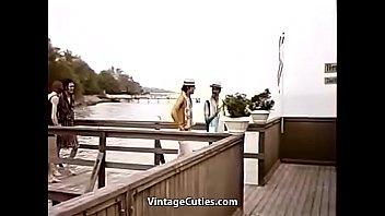 Danish Gloryhole Girls 1970s 4 min