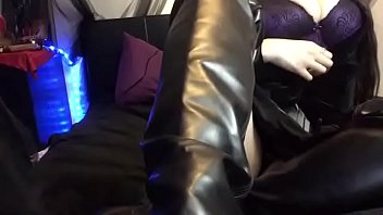 Coworker Introduces you to Leather Fetish Ass Worship & your first CBT task