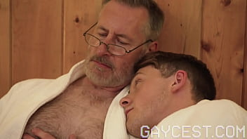 GAYCEST - Naughty twink seduced and bred by daddy