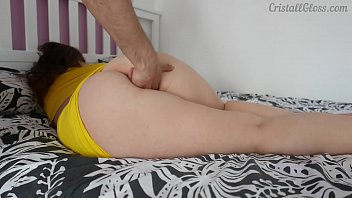Fucked Plump Sexy Girlfriend With My Fingers