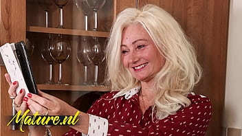 Blonde MILF Gets Fucked In Her Hairy Ass By Tinder Date