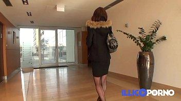 Double vaginal for Océane! FULL VIDEO - French amateur Illico porno 15 min
