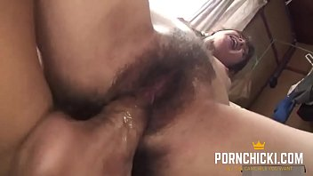 Hairy Japanese MILF Hammered - More at PornChicki.com