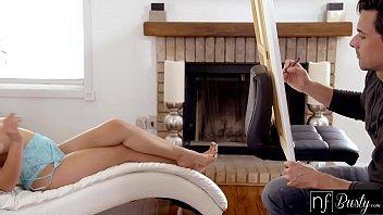 NF Busty - Curvy Model Seduces Her Artist For Intense Sex S5:E10