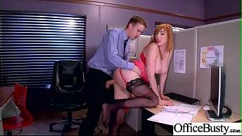 Sex Adventures With Big Tits Office Horny Slut Girl (Lauren Phillips) mov-13