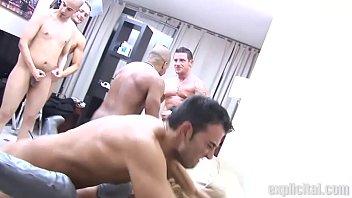 Getbig orgy Explicital orgy with rafa garcia, yoha galvez, mila,