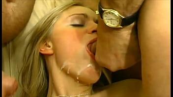 Estelleandfriends: Grandpa lets go of his cum still shouting: Here ... bitch!