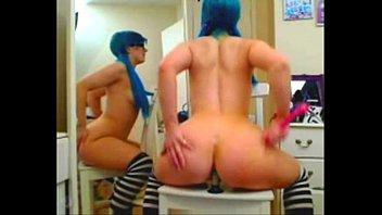 Free emo teens Emo girl rides dildo anal - camgirlz777.com