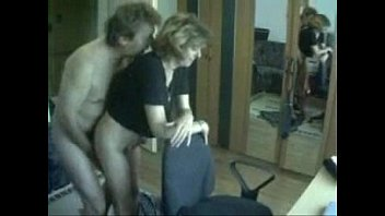 Voyeur mum Mom and daddy having fun caught by hidden cam
