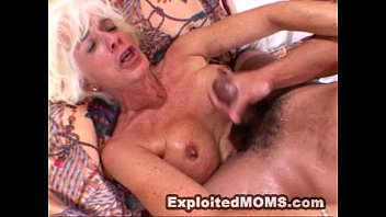Mom gets used and a. by a big black cock in Hot Mature Video