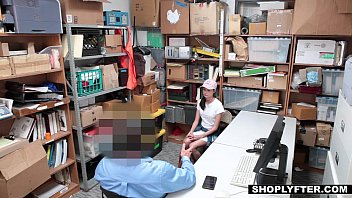 Shoplyfter - Teen Fucks Cop To Get Out Of Trouble