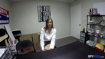 Spy Pov - Harvard grad fucked Molly Manson teen-porn thumbnail