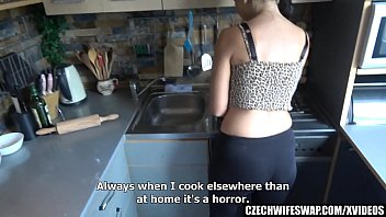 Busty Mother Banged in the Kitchen thumbnail