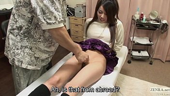 Uncensored bizarre Japanese pubic shaving salon Subtitled