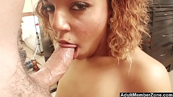 Cutie With Amazing Eyes Gives POV Blowjob