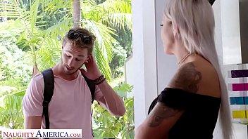 Naughty America Nicole McKenna (Nina Elle) fucks her son's big cocked friend 14 min