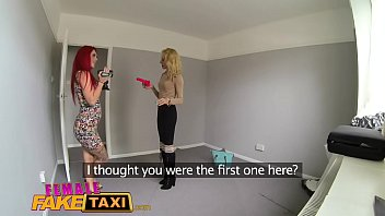 Female accomodating and sex Female fake taxi lesbian sex toy play and pussy licking orgasms in uk flat