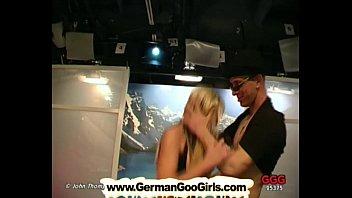 Gina The Gorgeous Blonde Milf Swallows Tons Of Semen