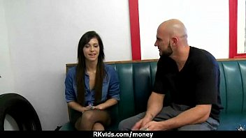 Cute sexy student trades sex for some extra cash 7