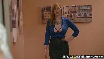 Brazzers - Big Tits at Work -  The New Girl Part 3 scene starring Lauren Phillips, Lena Paul and Dan