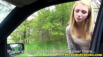 Young hitchhiker pays ride with her pussy porno izle