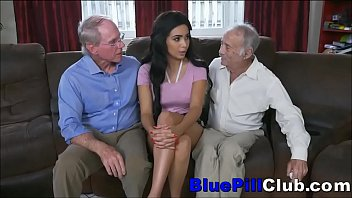 Native American Teen Lets Old Guys Use Her Pussy