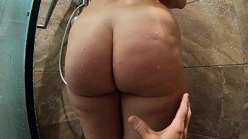 Big ass girl fucks spying pervert