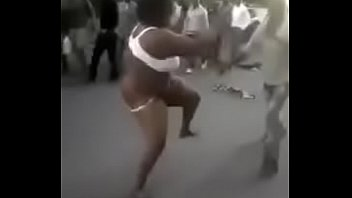 A man and woman naked Woman strips completely naked during a fight with a man in nairobi cbd