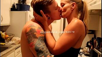 Tom Faulk and Diana Kissing Video 3