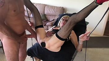 """Laura ejects butt plug so she can get replugged by Randy's cock. <span class=""""duration"""">53 sec</span>"""