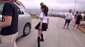 Ayami Syunka Japanese Babe On Set Behind Scenes AV Model