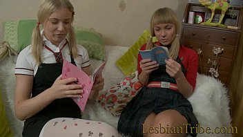 blonde teens lesbians fucking anal with strapon 25 min