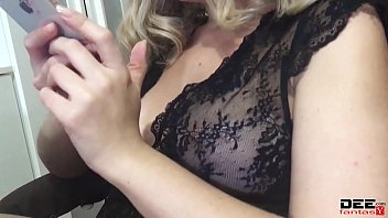 Busty Blonde Sensual Sucks Big Dick and Takes Cum in Mouth