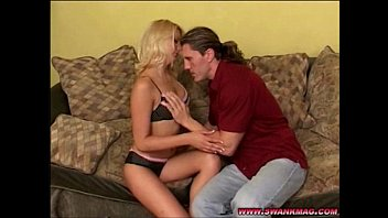 Blonde Babe Stacy Thorn Rides A Big Cock