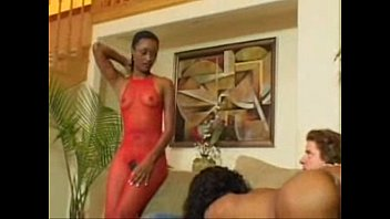 2 black girls threesome