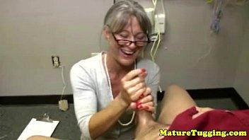Granny Mature Massages Dick